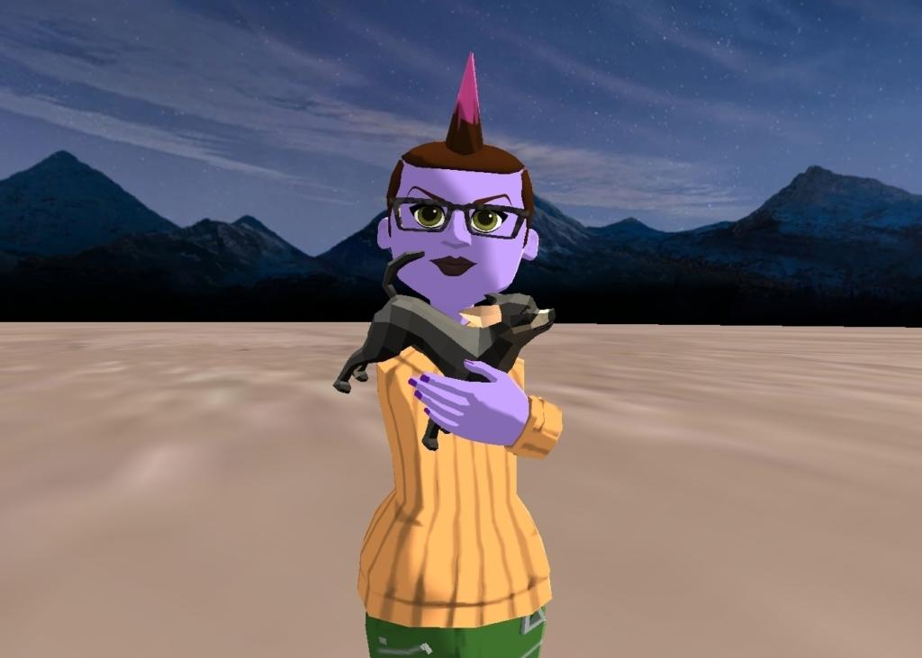 Look! I'm  holding  Ruxin
